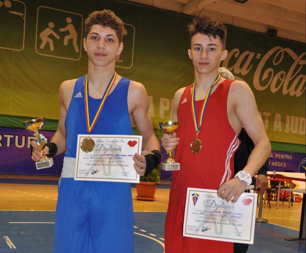 Adrian Preda, boxerul de aur al Pitestiului