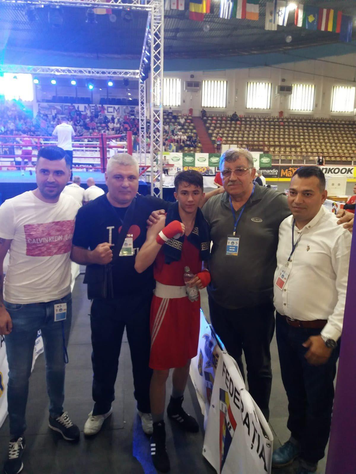 Adi Preda în finala Campionatului European de box!