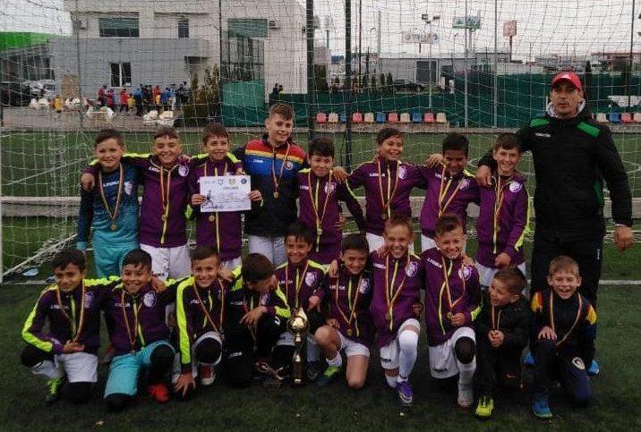 FC Argeş Under 10 a câştigat Junior Cup!