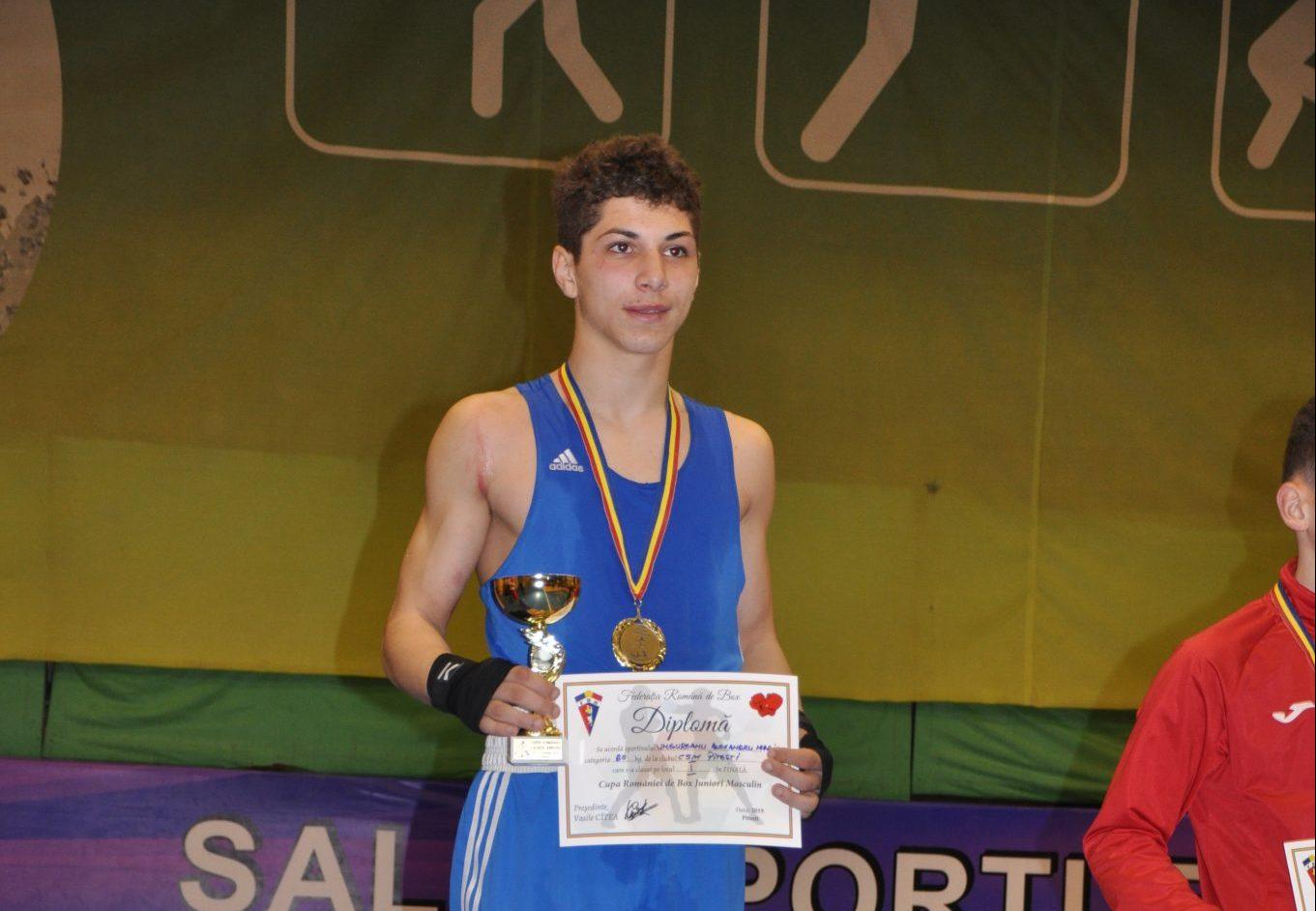 Piteşteanul Alexandru Ungureanu, un boxer de mare viitor!