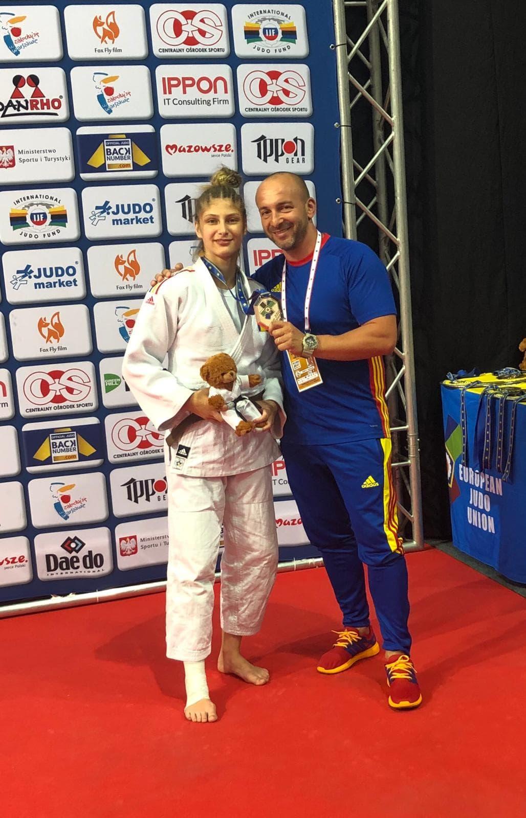 Florentina Ivănescu, vicecampioană europeană la judo!