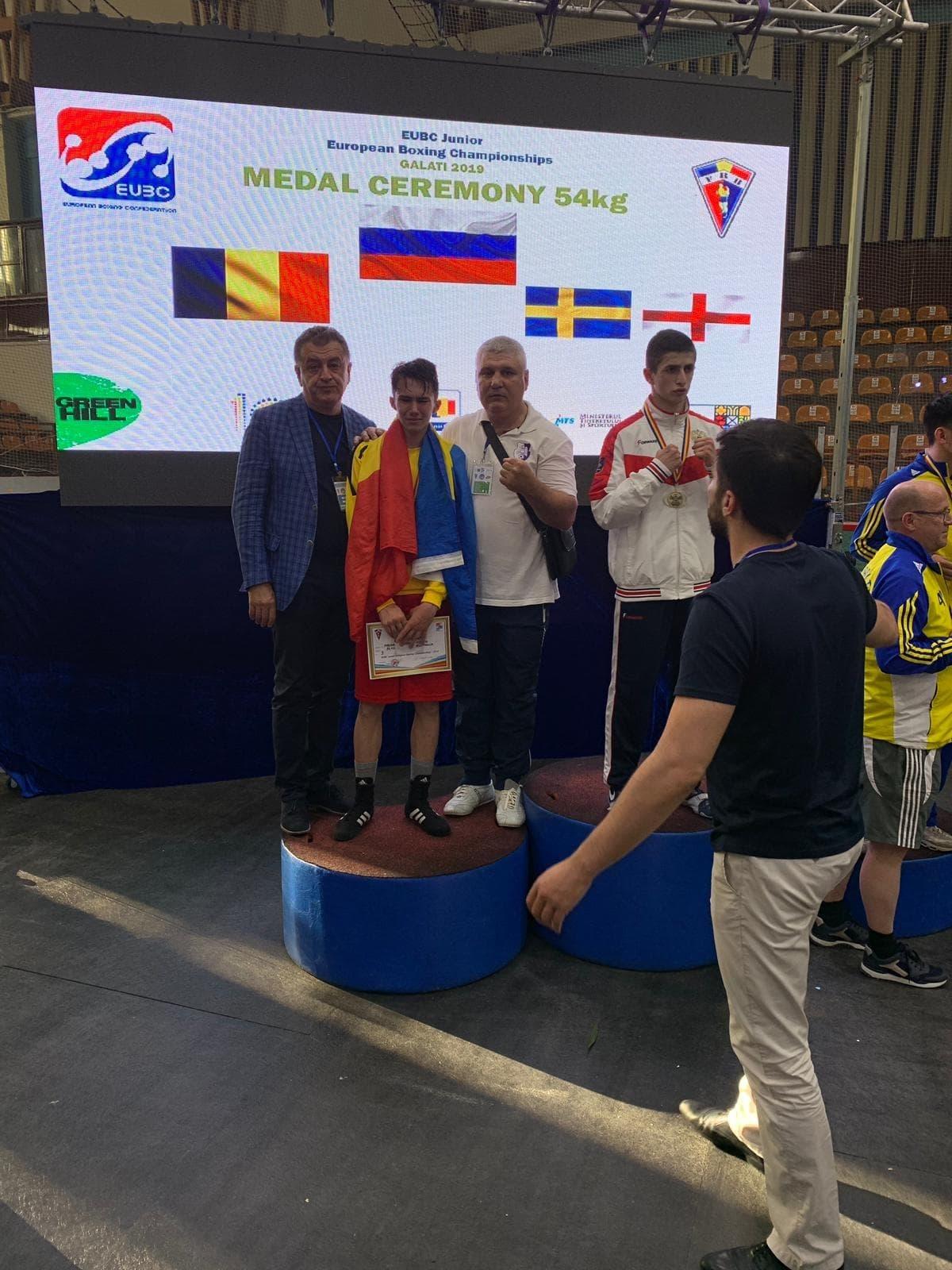 Adrian Preda, din nou vicecampion european de box!