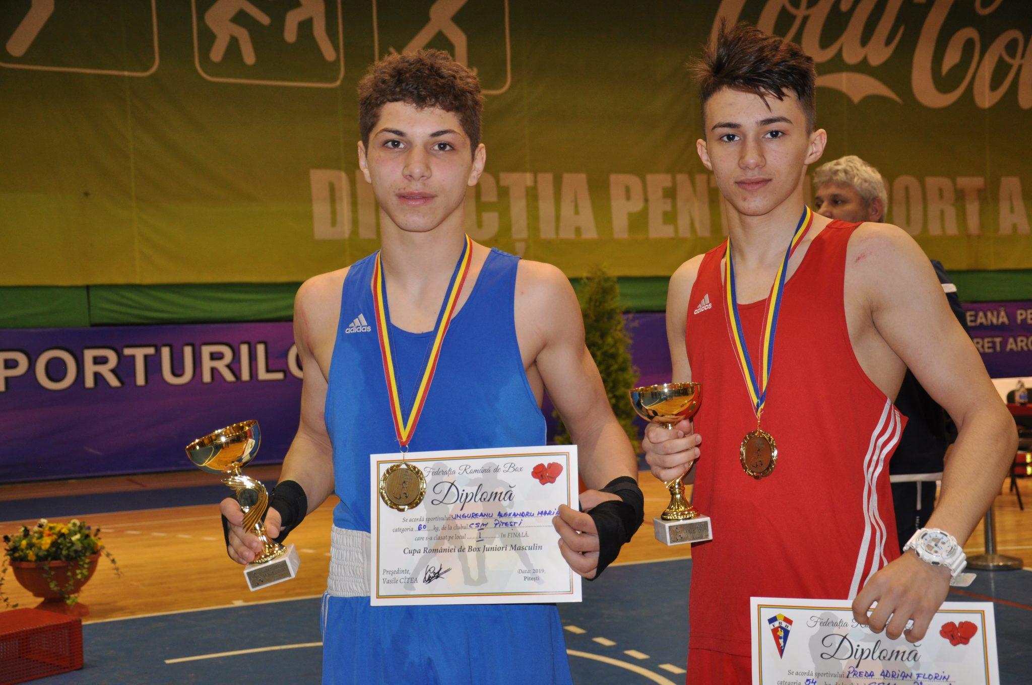 Boxerii Preda şi Ungureanu, campioni cu FC Argeş!