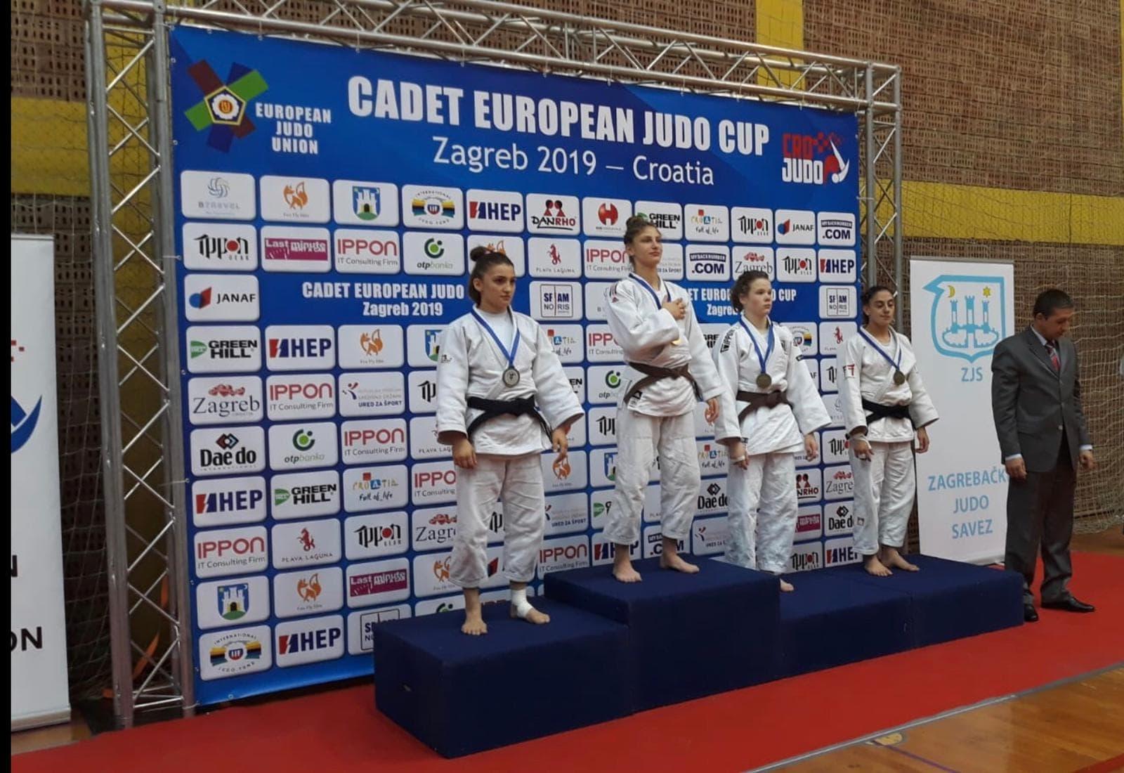 Judoka Florentina Ivănescu, aur la Cupa Europei!