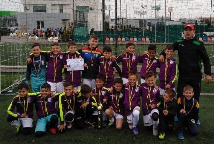 FC Argeş Under 10 a câştigat Junior Cup!
