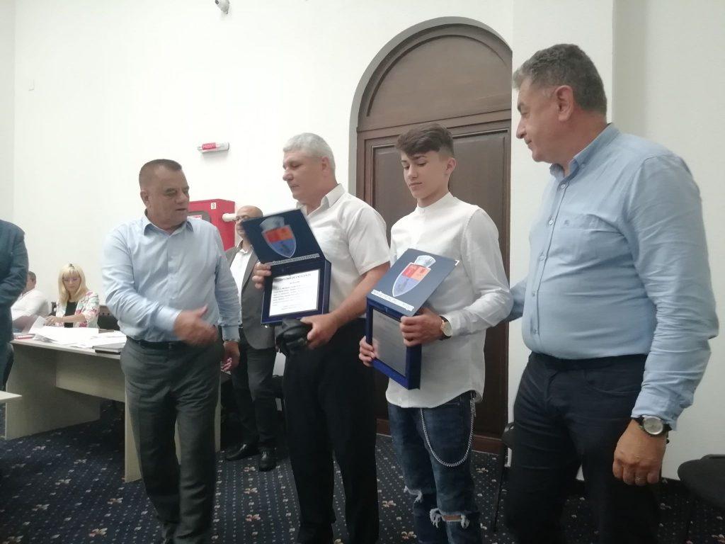 Boxerul Adrian Preda, premiat de Consiliul Local!